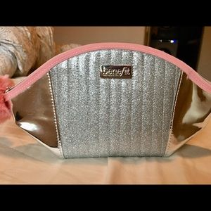 Benefit Cosmetics makeup bag